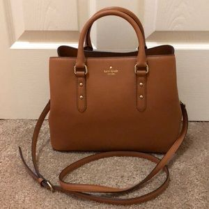 Kate Spade brown satchel bag